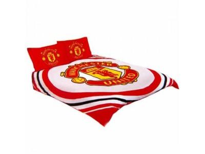 Manchester United dobbelt sengetøj - MUFC Double Duvet Set PL