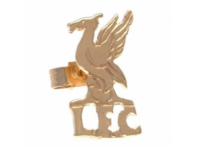 Liverpool guld ørering - LFC 9ct gold earring CR