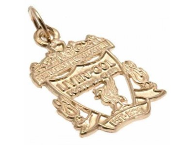 Liverpool guld smukke - LFC 9ct Gold Pendant Crest Small