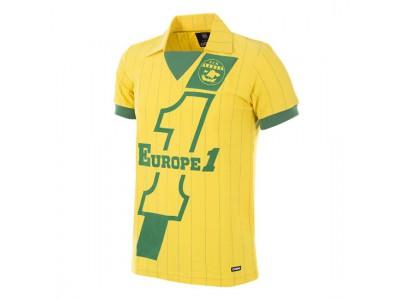 FC Nantes 1982 - 83 Retro Trøje - FCN Football Shirt