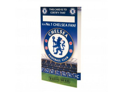Chelsea fødselsdagskort - Birthday Card No 1 Fan
