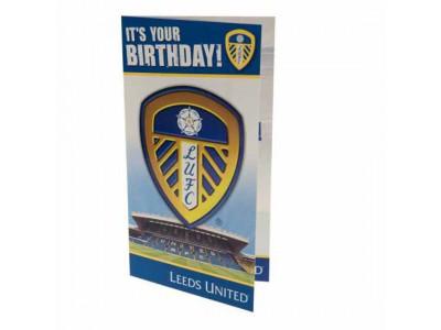 Leeds United fødselsdagskort - LUFC Birthday Card