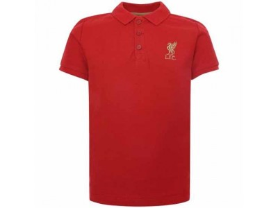 Liverpool polo trøje - LFC Red Polo Shirt Junior Red - 7/8 Years