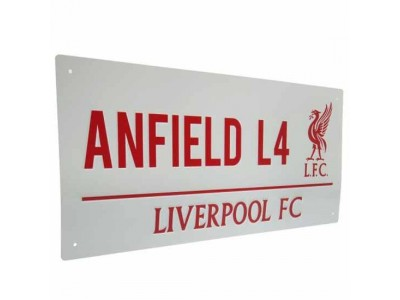 Liverpool gadeskilt - LFC Street Sign RL