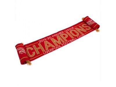 Liverpool halstørklæde - LFC Premier League Champions Scarf