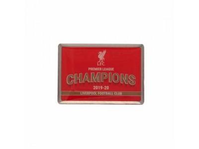 Liverpool mærke - LFC Premier League Champions Badge