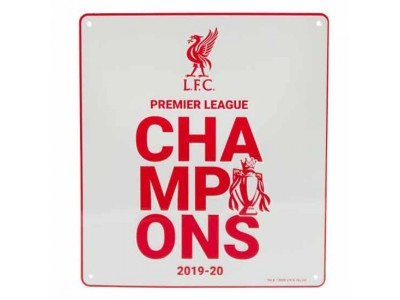 Liverpool skilt - LFC Premier League Champions Sign WT