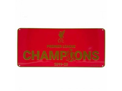 Liverpool skilt - LFC Premier League Champions Sign RD