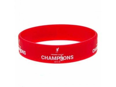 Liverpool armbånd - LFC Premier League Champions Silicone Wristband