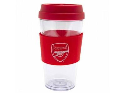 Arsenal krus - AFC Clear Grip Travel Mug