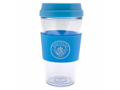 Manchester City krus - MCFC Clear Grip Travel Mug
