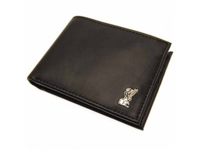 Liverpool pung - LFC Metal Crest Leather Wallet