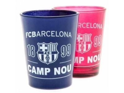 FC Barcelona shot glas - Barca 2 Pack Shot Glass Set