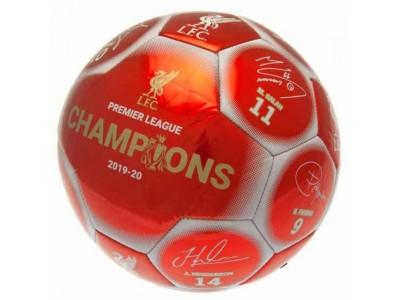 Liverpool fodbold - LFC Premier League Champions Football Signature RW