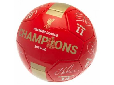 Liverpool fodbold - LFC Premier League Champions Football Signature RG