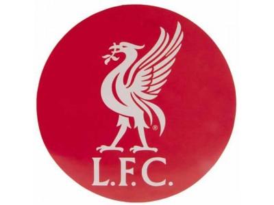 Liverpool klistermærke - LFC Big Crest Circular Sticker