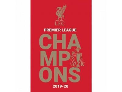 Liverpool plakat - LFC Premier League Champions Poster 7