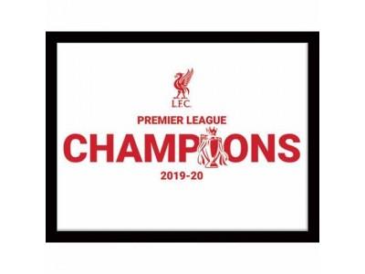 Liverpool billede - LFC Premier League Champions Picture WT 16 x 12