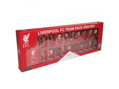 Liverpool figurer - LFC SoccerStarz 19 Player Team Pack