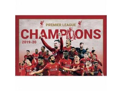 Liverpool plakat - LFC Premier League Champions Poster Montage 11