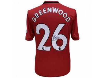 Manchester United trøje - Greenwood Signed Shirt