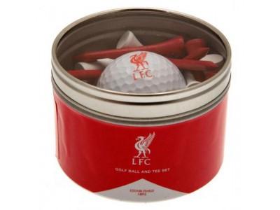 Liverpool FC Ball & Tee Set