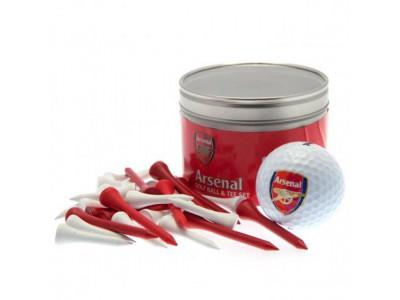 Arsenal golfbold og tee sæt - Ball & Tee Set