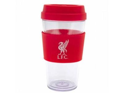 Liverpool krus - LFC Clear Grip Travel Mug LB