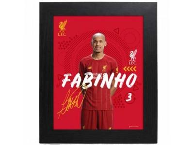 Liverpool billede - LFC Picture Fabinho 10 x 8 inches