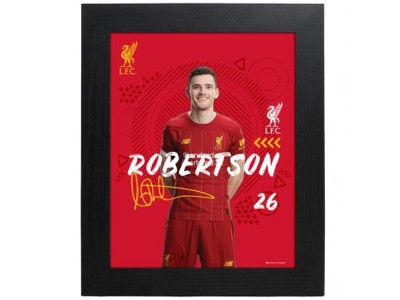 Liverpool billede - LFC Picture Robertson 10 x 8 inches