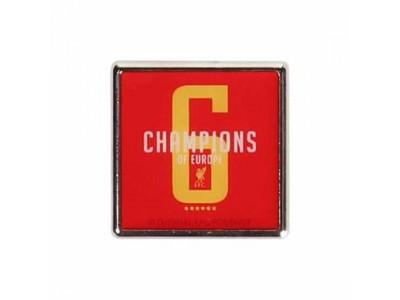 Liverpool mærke - LFC Ch6mpions Badge