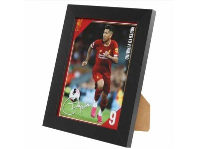 Liverpool billede - LFC Picture Firmino 8 x 6 inches