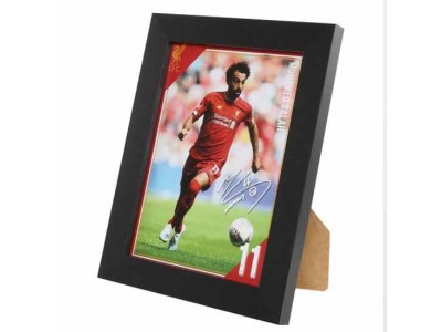 Liverpool billede - LFC Picture Salah 8 x 6 inches