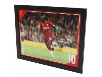 Liverpool billede - LFC Picture Mane 16 x 12 inches