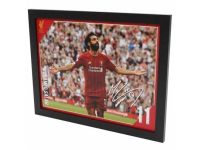 Liverpool billede - LFC Picture Salah 16 x 12 inches