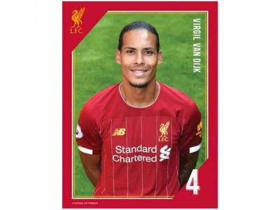 Liverpool foto - LFC Headshot Photo Van Dijk