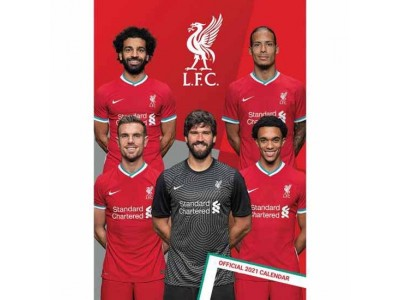 Liverpool kalender - LFC Calendar 2021
