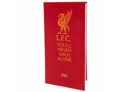 Liverpool lommekalender - LFC Pocket Diary 2021