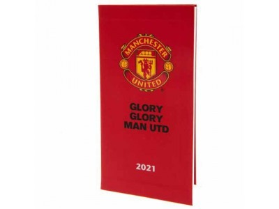 Manchester United lomme kalender - MUFC Pocket Diary 2021