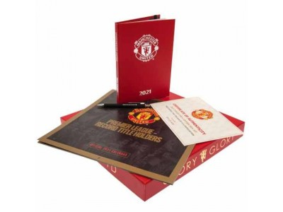 Manchester United kalendergave - Collectors Calendar Gift Set 2021