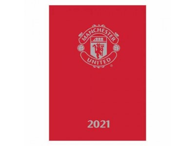 Manchester United kalender bog - MCFC A5 Diary 2021