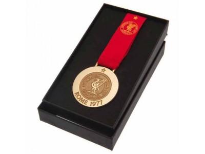 Liverpool medalje - LFC Rome 77 Replica Medal