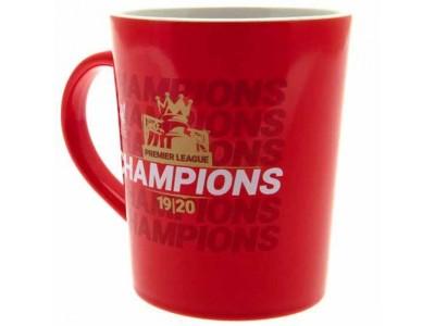 Liverpool krus - LFC Premier League Champions Gold Print Mug