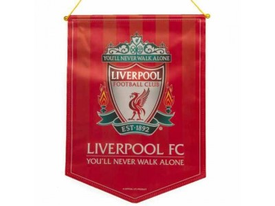 Liverpool banner - LFC Large Crest Pennant