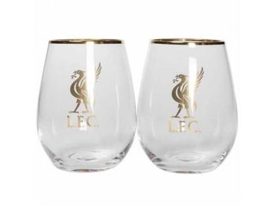 Liverpool whisky glas - LFC Fine Glass Tumbler Set