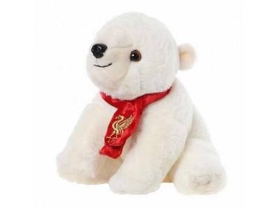 Liverpool isbjørn - LFC Plush Polar Bear