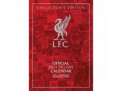Liverpool kalender - LFC Deluxe Calendar 2021