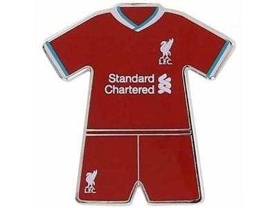 Liverpool køleskabsmagnet - LFC Home Kit Fridge Magnet