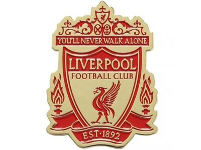 Liverpool køleskabsmagnet - LFC Crest Fridge Magnet