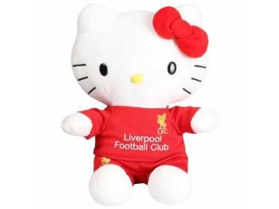 Liverpool plyds bamse - LFC Plush Hello Kitty